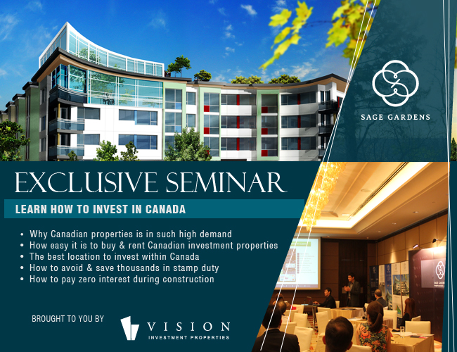 Exclusive Seminar On Property Investments In Canada Chamber Promotions